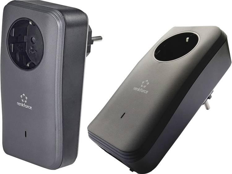 Renkforce PL600D Duo Powerline enkele adapter Duo set 500 Mbit-s