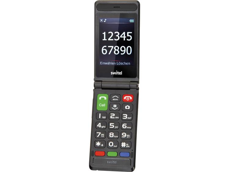 Switel M228 Senioren clamshell telefoon Zwart kopen