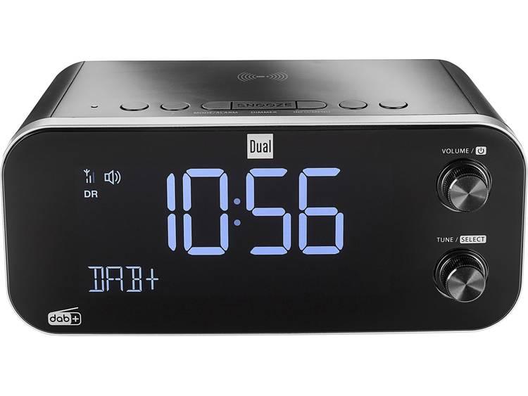Dual DAB CR 30 Black Bird Wekkerradio DAB+, FM USB Accu laadfunctie Zwart