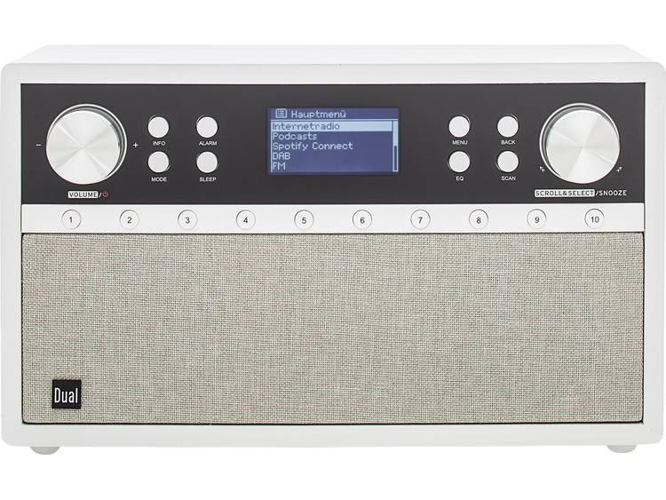 Dual Radiostation IR 105S Tafelradio met internetradio DAB+, FM AUX, Bluetooth,