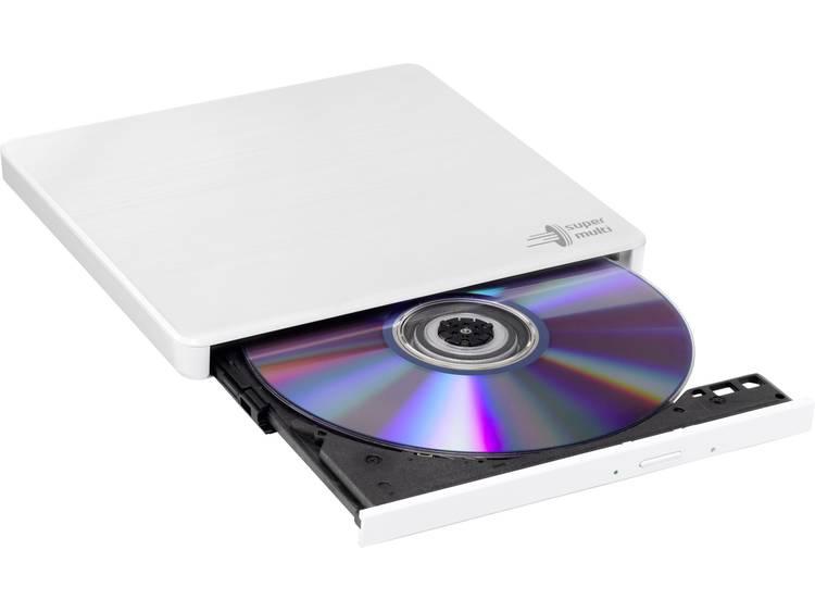 Hitachi-LG GP60NW60 8x DVD-RW USB 2.0 White Slim External Optical Drive