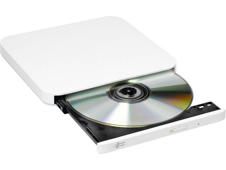 HL Data Storage GP90 Externe DVD-brander Retail USB 2.0 Wit