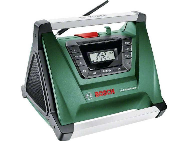 Bosch Home and Garden +PRA Multi Power Bouwradio AUX, Bluetooth
