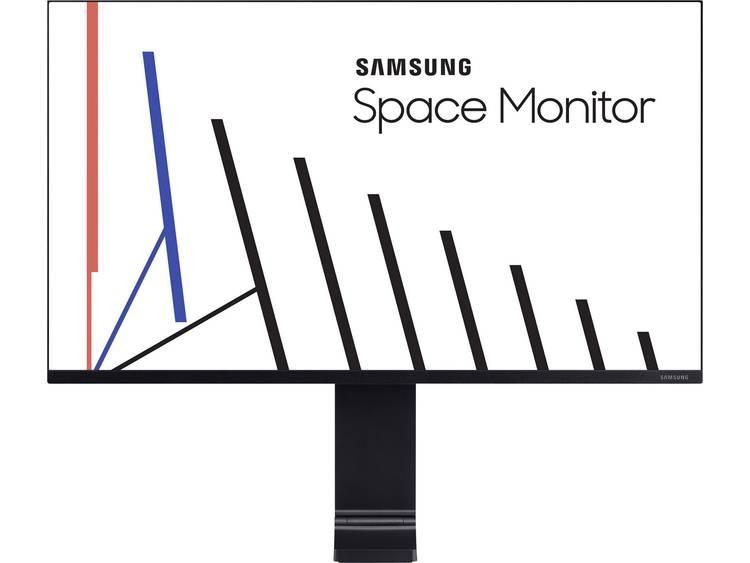 Samsung LS27R754QEUXZG LED-monitor 68.6 cm (27 inch) Energielabel C (A++ - E) 2560 x 1440 pix WQHD 4 ms HDMI, Mini DisplayPort VA LED