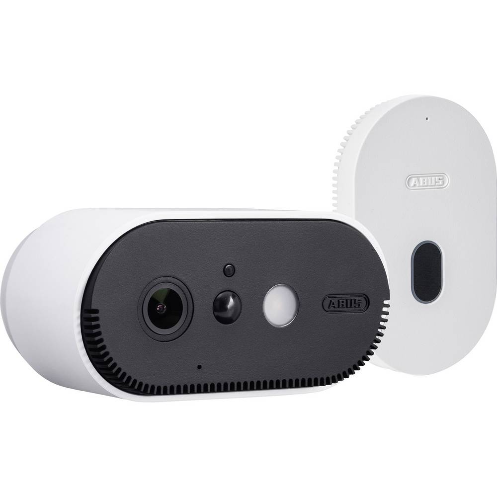 WiFi IP-Bewakingscamera-set 2-kanaals Met 1 camera 1920 x 1080 pix ABUS Akku Cam PPIC90000