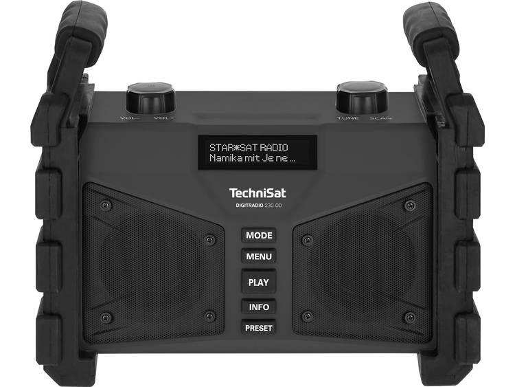 TechniSat DIGITRADIO 230 OD Bouwradio DAB+, FM AUX, Bluetooth, USB Herlaadbaar,