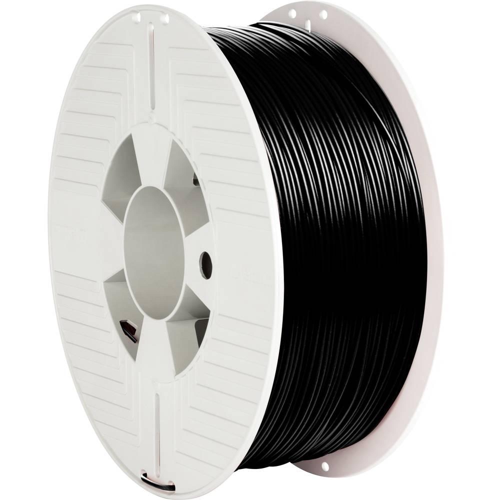 Verbatim 55026 3D-skrivare Filament ABS-plast 1.75 mm 1000 g Svart 1 st