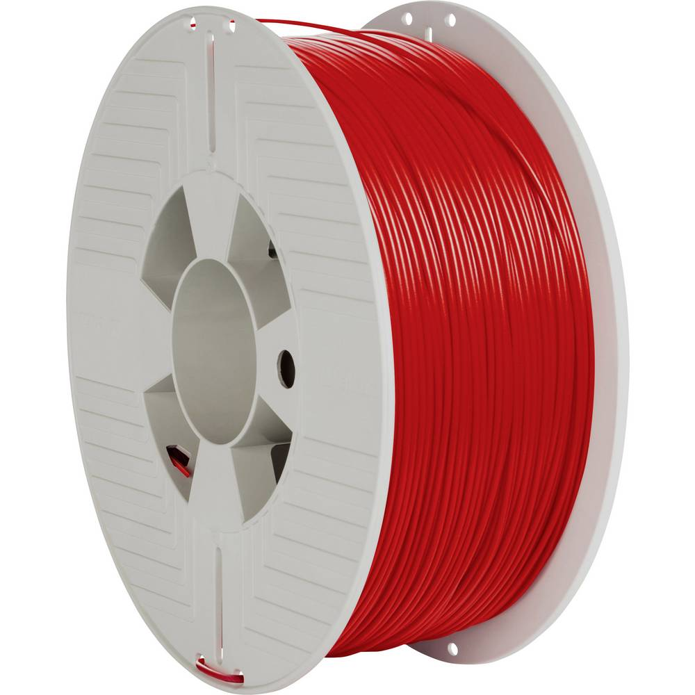 Verbatim 55320 3D-skrivare Filament PLA-plast 1.75 mm 1000 g Röd 1 st