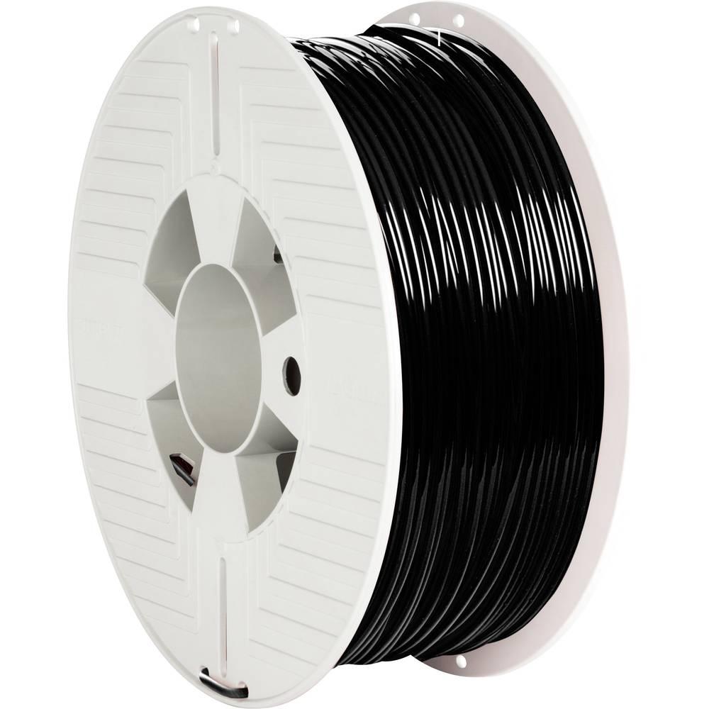 Verbatim 55327 3D-skrivare Filament PLA-plast 2.85 mm 1000 g Svart 1 st