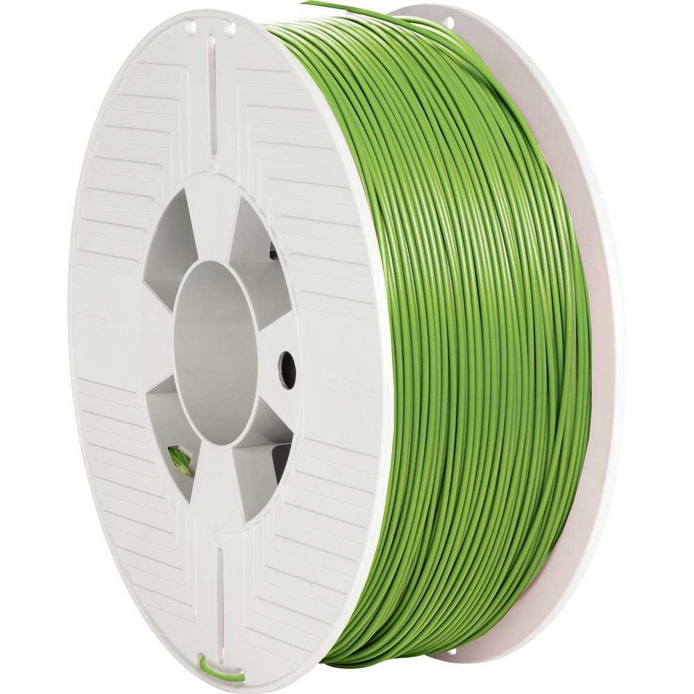 Verbatim 55324 3D-skrivare Filament PLA-plast 1.75 mm 1000 g Grön 1 st