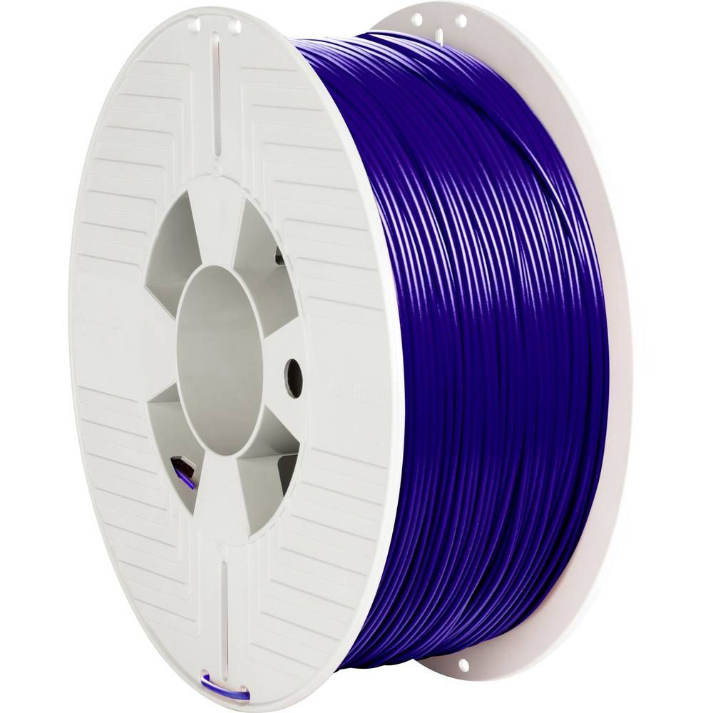 Verbatim 55322 3D-skrivare Filament PLA-plast 1.75 mm 1000 g Blå 1 st