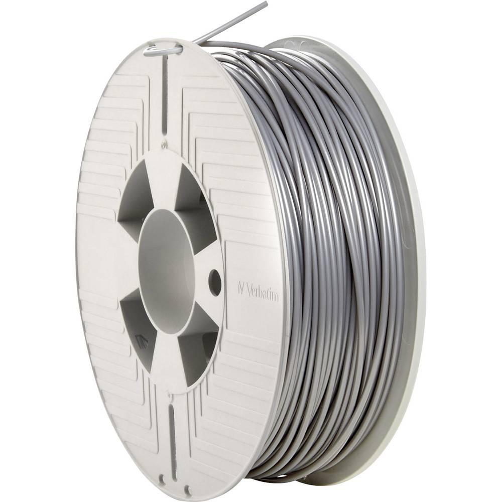 Verbatim 55329 3D-skrivare Filament PLA-plast 2.85 mm 1000 g Grå 1 st