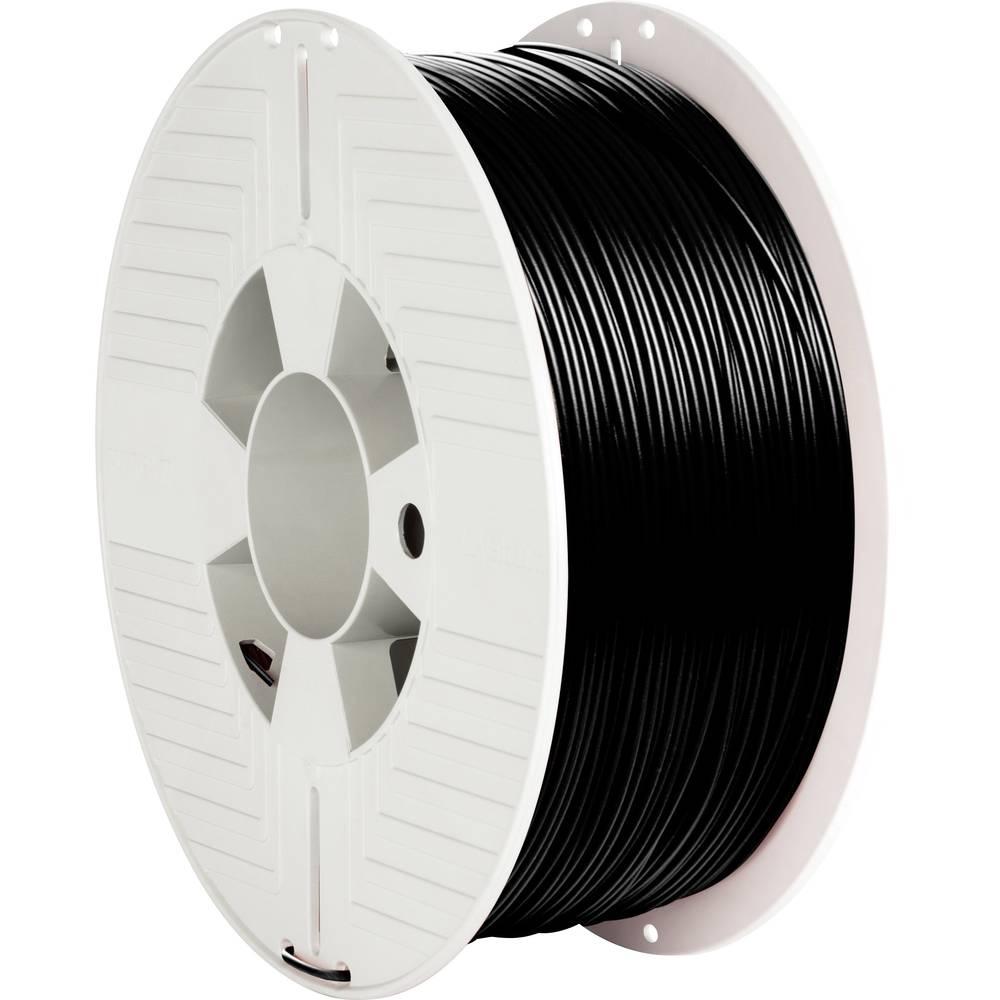 Verbatim 55318 3D-skrivare Filament PLA-plast 1.75 mm 1000 g Svart 1 st