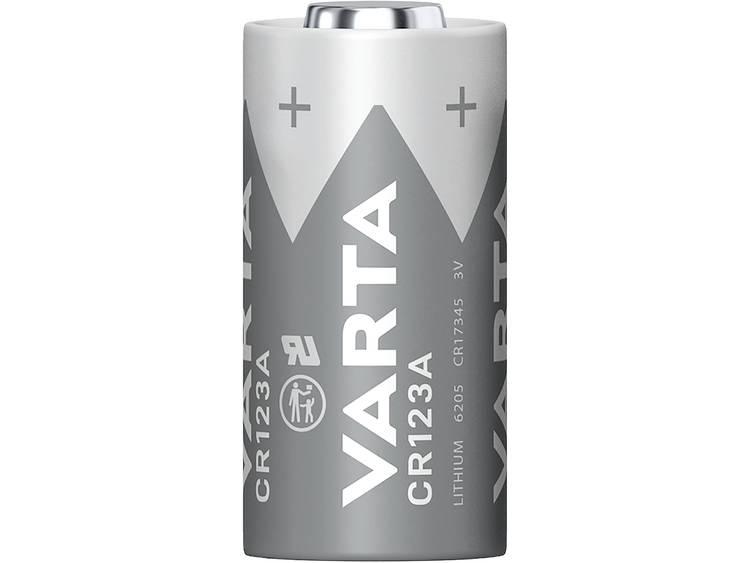Varta Electronics CR 123 CR123A Fotobatterij Lithium 1430 mAh 3 V 10 stuk(s)