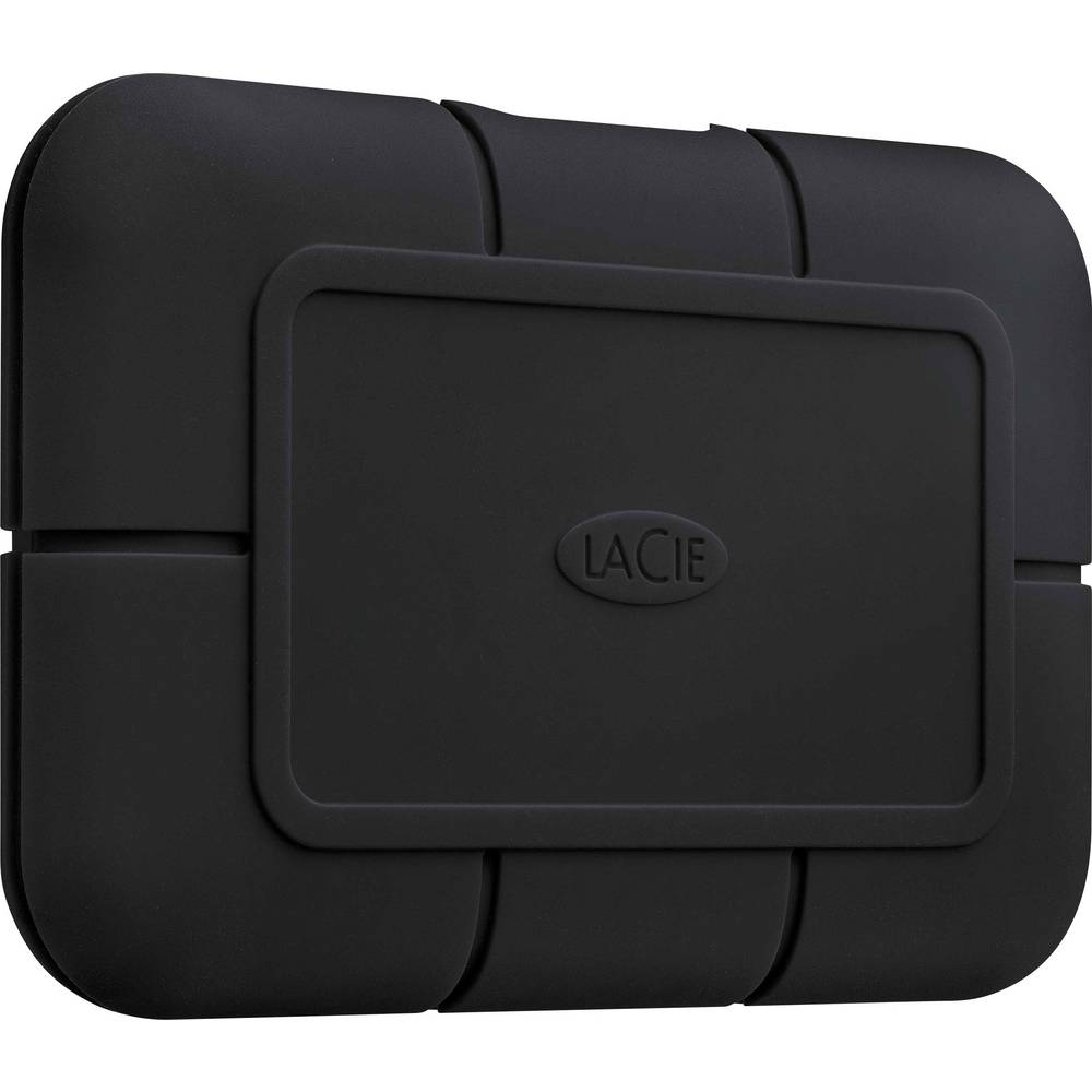 LaCie Rugged® SSD PRO 1 TB Extern SSD-disk Thunderbolt 3 Svart STHZ1000800