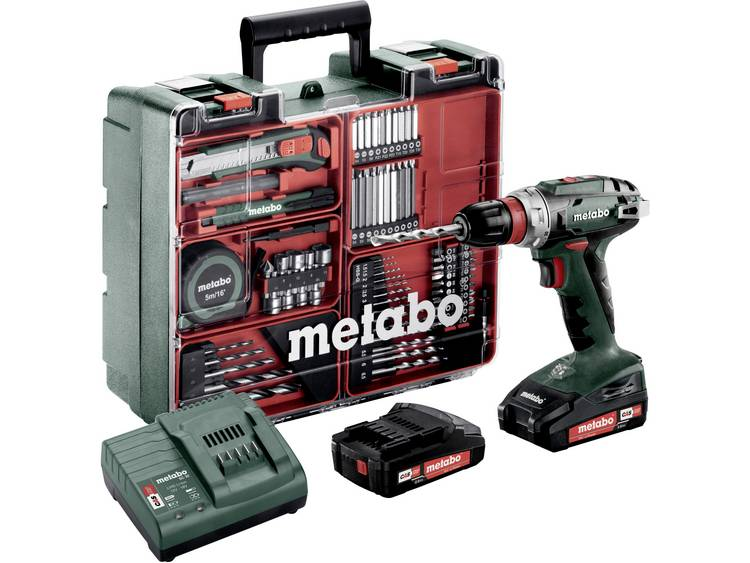 Afbeelding van product Metabo  Accu boorschroefmachine 18 Volt BS 18 Quick Mobile Workshop