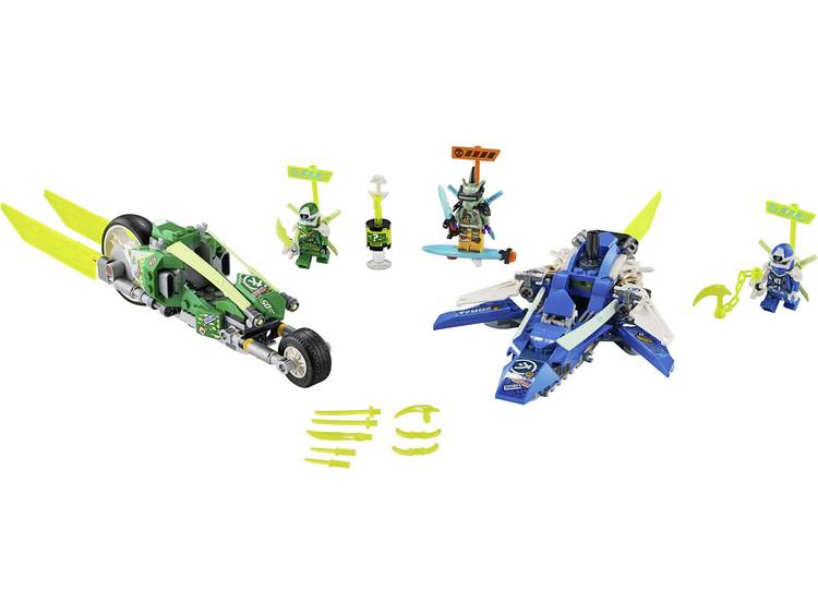 LEGO Ninjago Jay and Lloyd's supersnelle racers 71709
