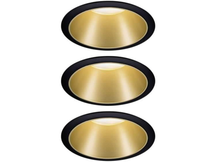Paulmann 93404 Inbouwlamp Set van 3 stuks 6.50 W Warm-wit