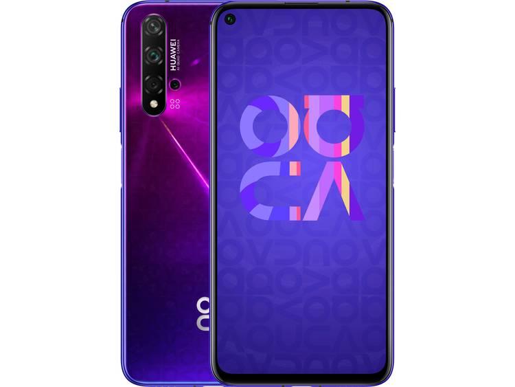 "HUAWEI Nova 5T Smartphone 128 GB 6.26 inch (15.9 cm) Dual-SIM Androidâ""¢ 9.1 48 Mpix, 16 Mpix, 2 Mpix, 2 Mpix Lila kopen"