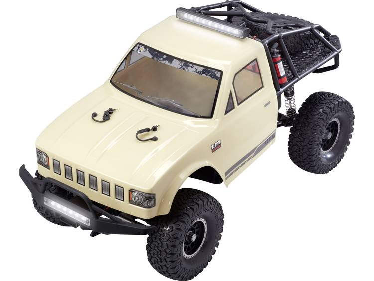 Reely Free Men Extreme 1:10 Brushed RC auto Elektro Crawler 4WD 100% RTR 2,4 GHz Incl. accu, oplader