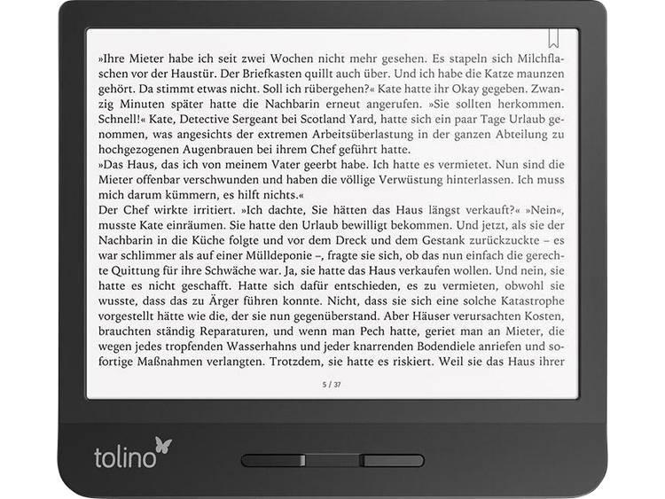 Tolino vision 5 eBook-reader 17.8 cm (7 inch) Zwart