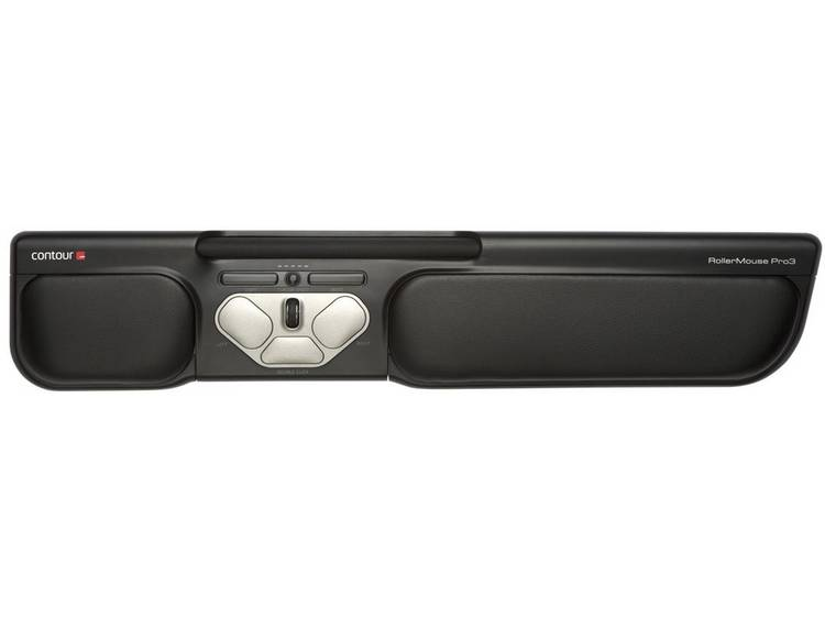 Contour Design RollerMouse Pro3 USB muis Ergonomisch, Extra grote toetsen, Geïntegreerd scrollwiel
