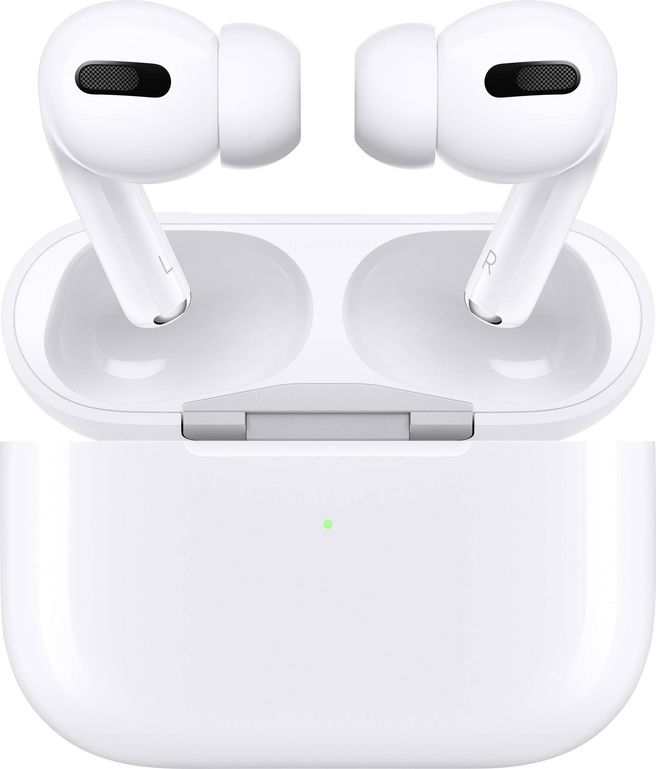 apple airpods pro mit wireless charging case bluetooth in ear oordopjes in ear wit. Black Bedroom Furniture Sets. Home Design Ideas