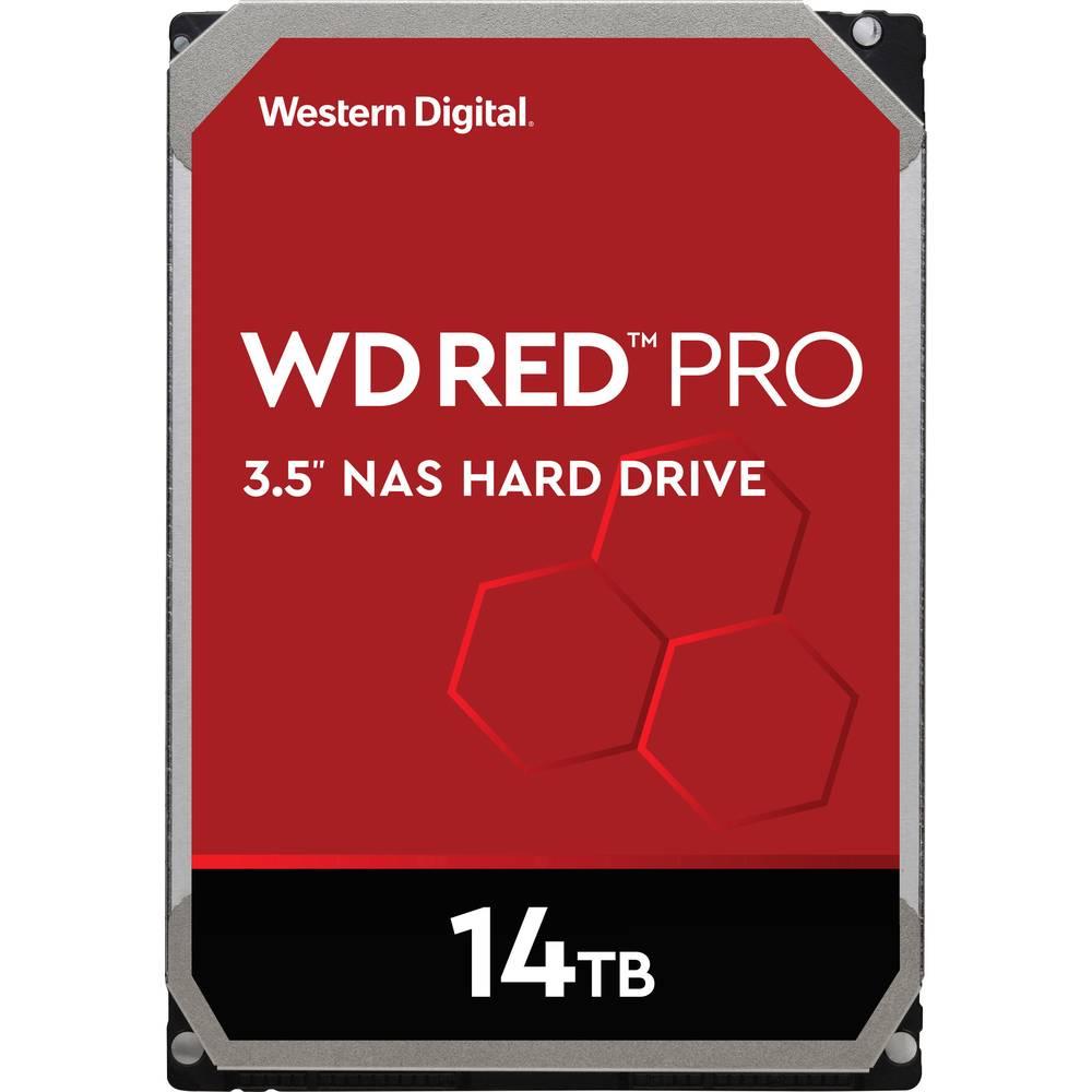 Western Digital WD Red™ Pro 16 TB Hårddisk 3.5 SATA 6 Gb/s WD161KFGX Bulk