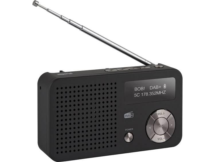 Imperial DABMAN 13 Wekkerradio DAB+, FM Accu laadfunctie Zwart