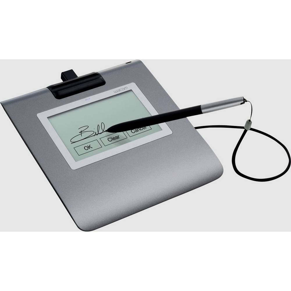 Wacom Signature Set STU-430 & sign pro PDF USB Penndisplay, signaturplatta Grå