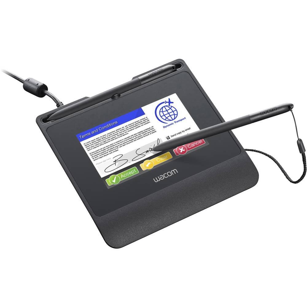 Wacom Signature Set STU-540 & sign pro PDF USB Penndisplay, signaturplatta Svart