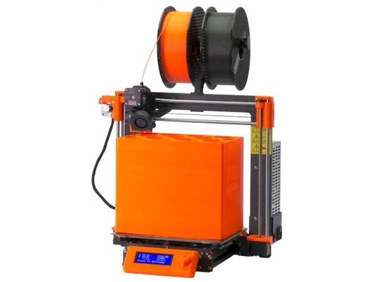 Prusa i3 MK3S 3D-printer Verwarmd printbed, Geschikt voor alle soorten filament, Incl. filament