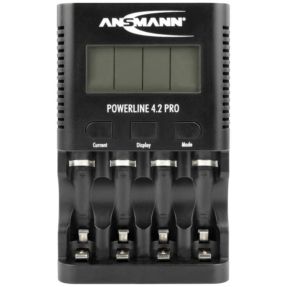 Ansmann Powerline 4.2 Pro Batteriladdare NiCd, NiMH AAA (R03), AA (R6)
