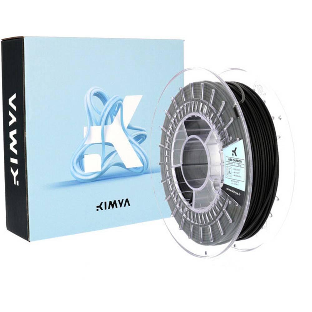 Kimya PS1002TQ ABS Carbon 3D-skrivare Filament ABS-plast 1.75 mm 500 g Svart 1 st