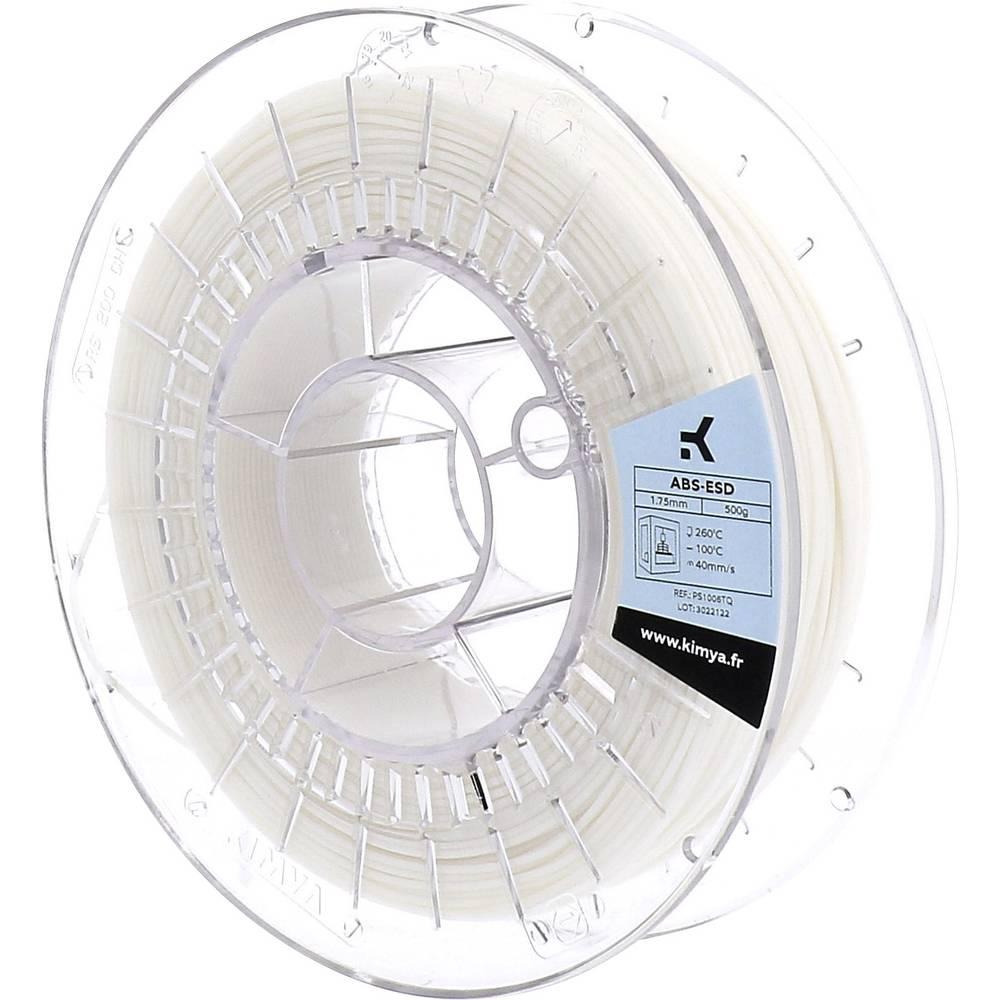 Kimya PS1006TQ ABS-ESD 3D-skrivare Filament ABS-plast 1.75 mm 500 g Natur 1 st