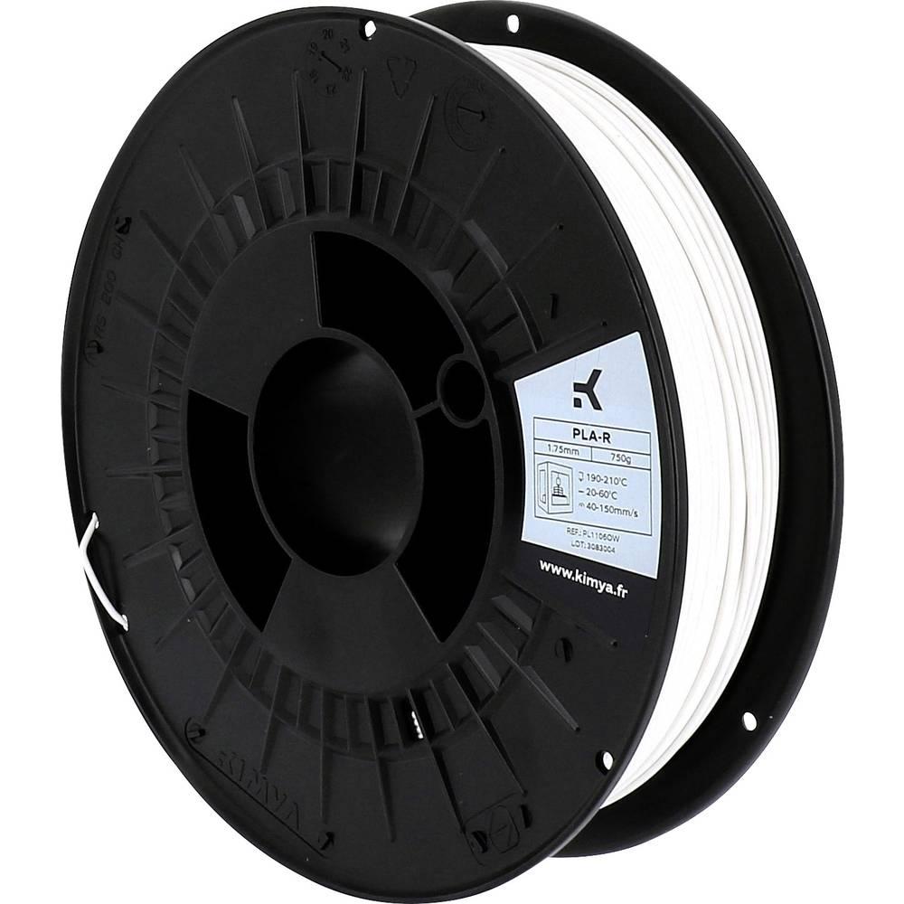 Kimya PL1106OW PLA-R 3D-skrivare Filament PLA-plast 1.75 mm 750 g Vit 1 st