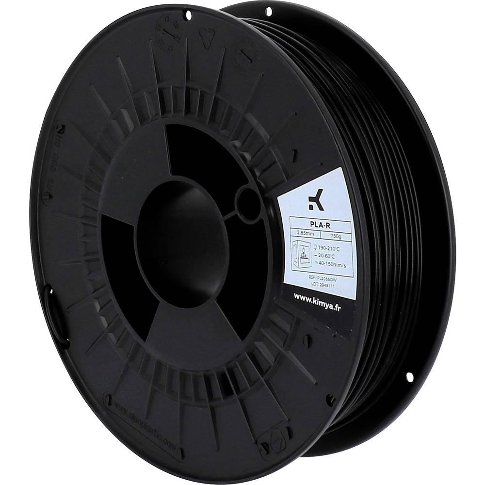 Kimya PL2066OW PLA-R 3D-skrivare Filament PLA-plast 2.85 mm 750 g Svart 1 st