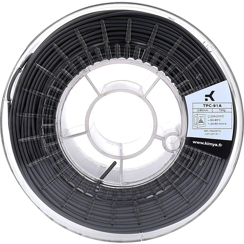 Kimya PE2004TQ TPC-91A 3D-skrivare Filament TPC 2.85 mm 750 g Svart 1 st