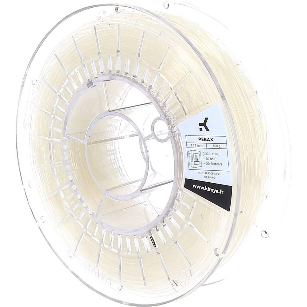 Kimya PA1001TQ PEBA-S 3D-skrivare Filament PEBA 1.75 mm 500 g Natur 1 st