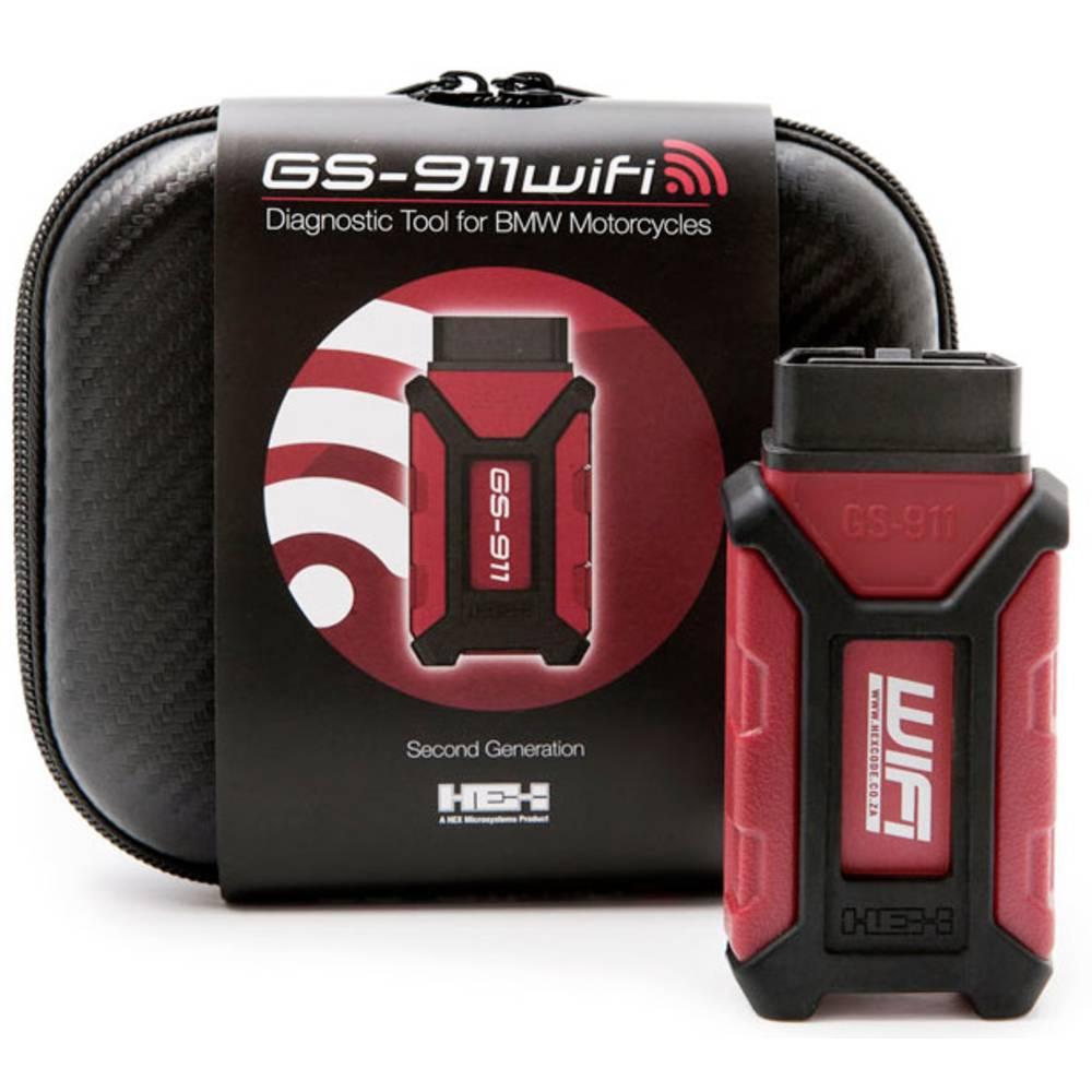 HEX Diagnosverktyg för motorcykel OBD2 GS-911 WiFi Hobby 80214 Passar till: BMW 10 fordon 1 st