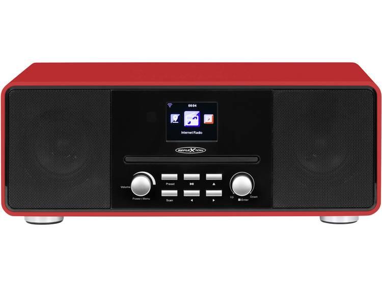Reflexion Tafelradio met internetradio Internet, DAB+, DAB, FM AUX, Bluetooth, C