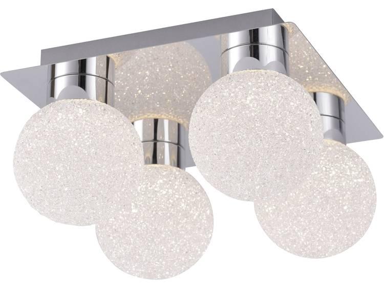 Vierflammige hanglamp Miko met RGBW led's