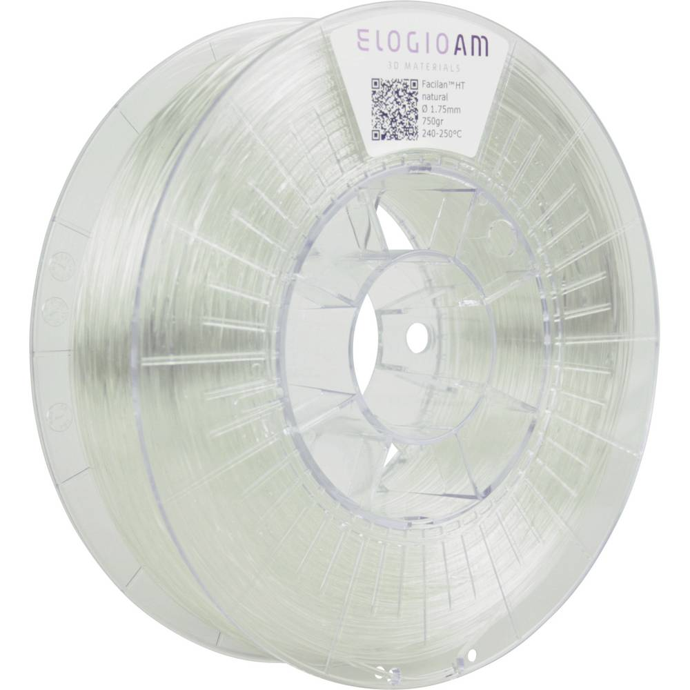 Elogio AM FCHT-0000-175-750 Facilan HT 3D-skrivare Filament 1.75 mm 750 g Natur 1 st