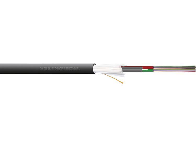 Digitus DK-35242/3-U Glasvezelkabel A/I-DQ (ZN) BH 50/125 µ Multimode OM3 Zwart Per meter