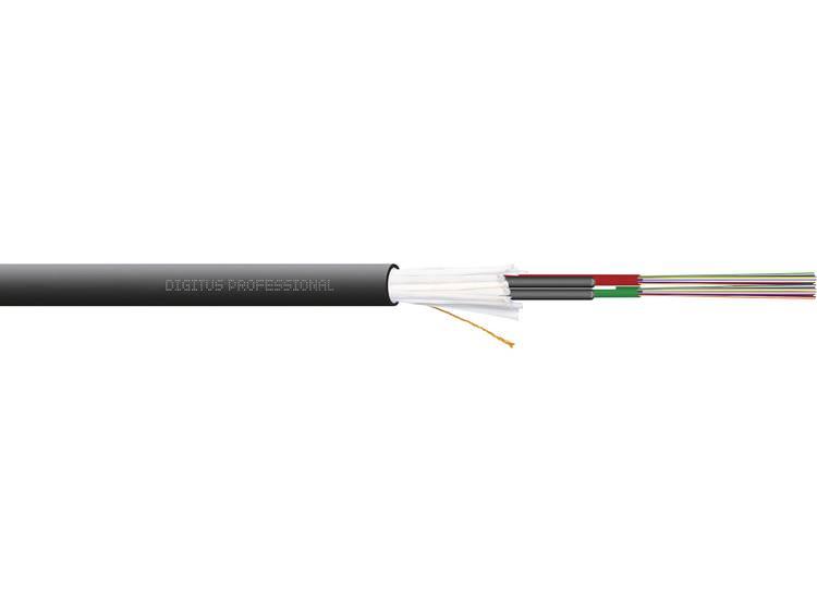 Digitus DK-35242/4-U Glasvezelkabel A/I-DQ (ZN) BH 50/125 µ Multimode OM4 Zwart Per meter