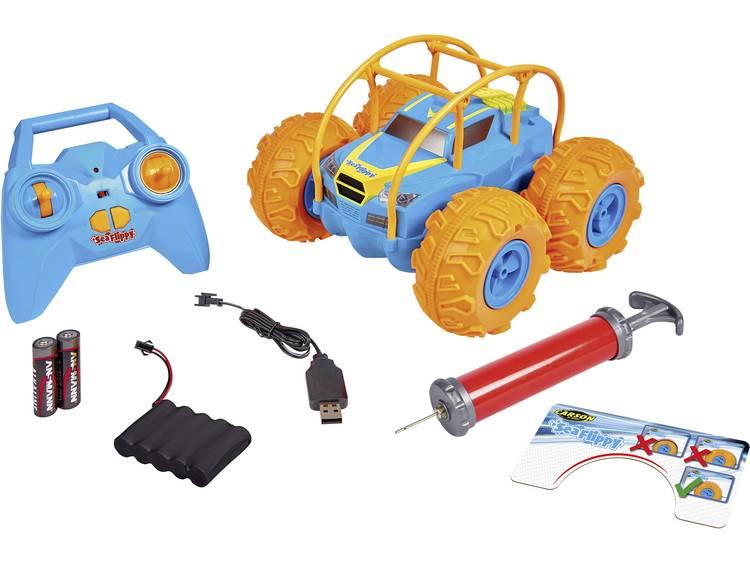 Carson Modellsport Sea Flippy RC auto Elektro 4WD RTR 2,4 GHz Incl. accu, oplader en batterijen voor