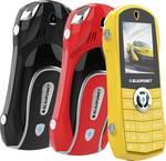 Blaupunkt CAR mobiele telefoon, geel