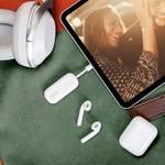 Twelve South AirFly USB-C: verbindt max. 2 Bluetooth hoofdtelefoon met een USB-C-apparaat (iPad Pro, smartphone, tablet)