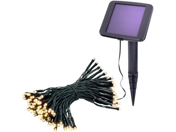 Esotec 102170 Solar lichtketting Buiten werkt op zonne-energie LED Warm-wit Verlichte lengte: 10 m g