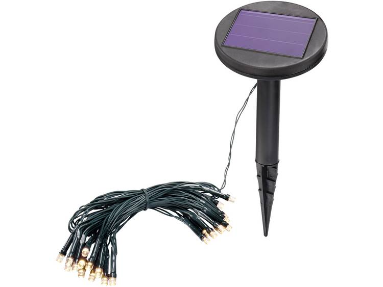 Esotec 102166 Solar lichtketting Buiten werkt op zonne-energie LED Warm-wit Verlichte lengte: 2.5 m